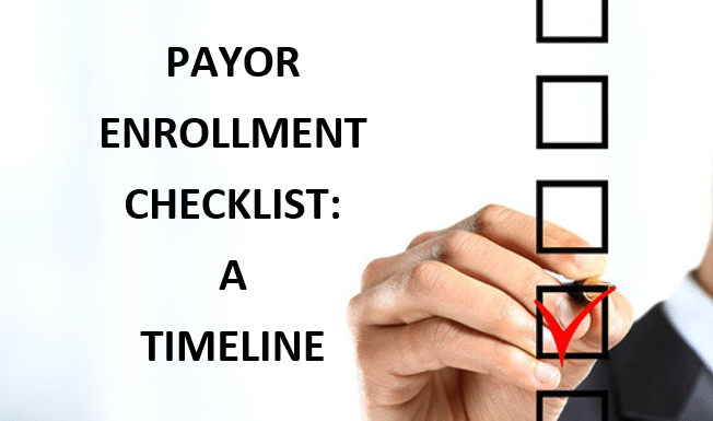 Checklist Home Page Graphic | Landing Page | STATMedCare Payor and Physician Enrollment and Credentialing