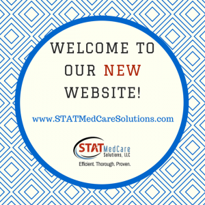 New Website.Canva Ad 300x300 | Welcome to our NEW website! | STATMedCare Payor and Physician Enrollment and Credentialing