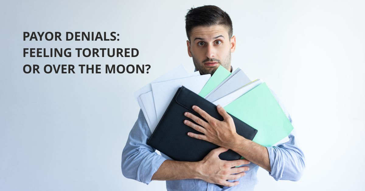 Open graph Over the moon | Payor Denials: Feeling Tortured or Over the Moon? | STATMedCare Payor and Physician Enrollment and Credentialing