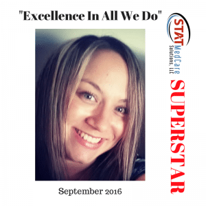 Kristin Deeken 1 300x300 | Embodying Excellence in All We Do   Performer of the Month, September 2016, Kristin Deeken | STATMedCare Payor and Physician Enrollment and Credentialing