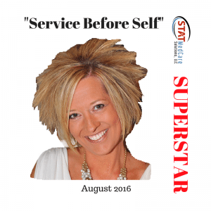 Sandi 300x300   Personifying Service Before Self   Performer of the Month, August 2016, Sandi Lomnicky   STATMedCare Payor and Physician Enrollment and Credentialing