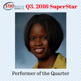 Q3, 2016 SuperStar – Kamisa Lindsey