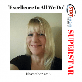 "Embodying ""Excellence In All We Do"" – Performer of the Month, November 2016, Trisha Piloto"