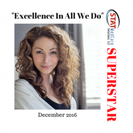 "Embodying ""Excellence In All We Do"" – Performer of the Month, December 2016, Michelle Alexander"