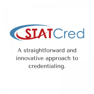 New STATCred logo 300x300 | Category   Credentialing | STATMedCare Payor and Physician Enrollment and Credentialing