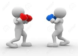 red blue boxing gloves | In Network vs. Out of Network | STATMedCare Payor and Physician Enrollment and Credentialing
